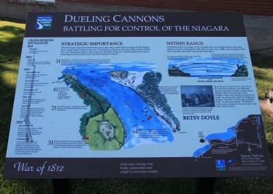 Dueling Cannons Marker image. Click for full size.