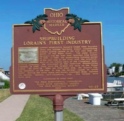 Side One - Shipbuilding Marker image. Click for full size.