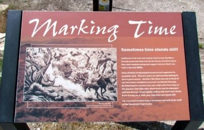 Marking Time Marker image. Click for full size.
