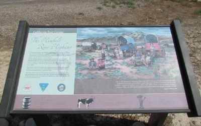 The Humboldt River Highway Marker image. Click for full size.