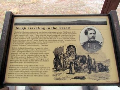Tough Traveling in the Desert Marker image. Click for full size.