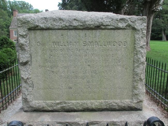 General Smallwood's Gravesite Marker image. Click for full size.