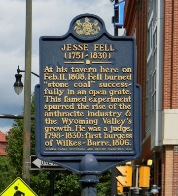 Jesse Fell Marker image. Click for full size.