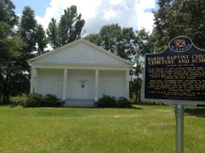 Sardis Baptist Church image. Click for full size.