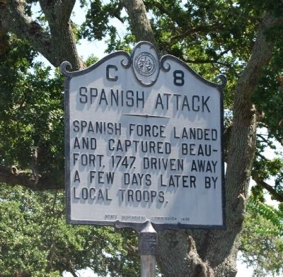 Spanish Attack Marker image. Click for full size.