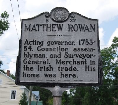 Matthew Rowan Marker image. Click for full size.