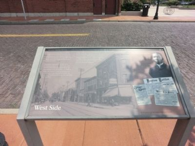 West Side Marker image. Click for full size.