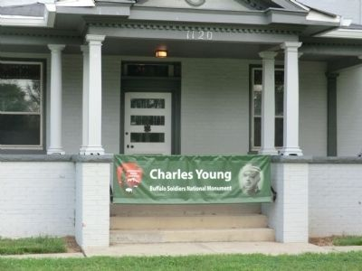 Colonel Charles Young House Marker image. Click for full size.