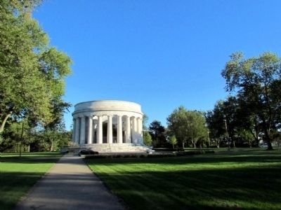 Harding Memorial and Tomb image. Click for full size.