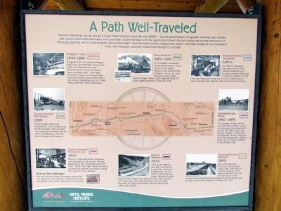 A Path Well-Traveled Marker image. Click for full size.