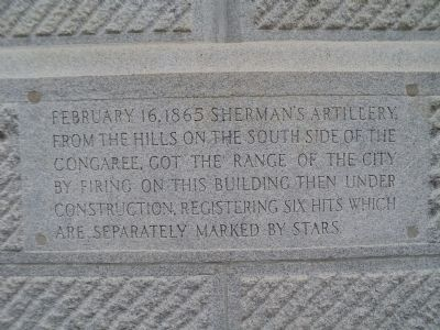 Sherman's Artillery Marker image. Click for full size.