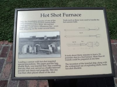 Hot Shot Furnace Marker image. Click for full size.