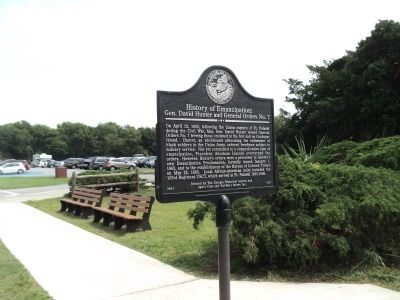 History of Emancipation: Marker image. Click for full size.