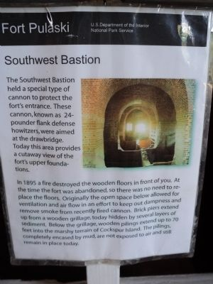 Southwest Bastion Marker image. Click for full size.
