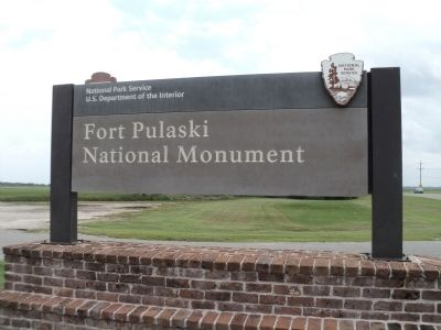 Fort Pulaski National Monument image. Click for full size.