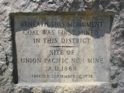 Beneath This Monument Marker image. Click for full size.