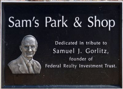Sam's Park & Shop marker image. Click for full size.