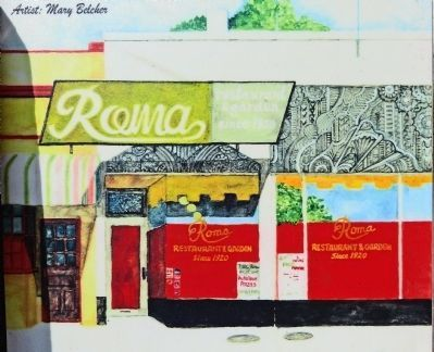 Roma Restaurant Photo, Click for full size