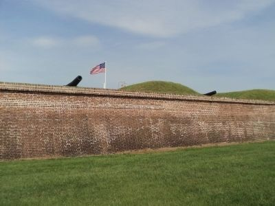 Fort Moultrie on Sullivans Island image. Click for full size.