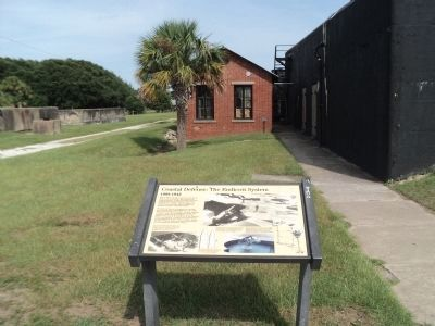 Coastal Defense: The Endicott System Marker Photo, Click for full size