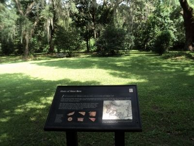 Hints of Slave Row Marker image. Click for full size.