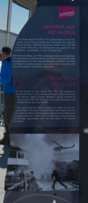 James Bond on the Schilthorn Marker, Attack on Piz Gloria image, Click for more information