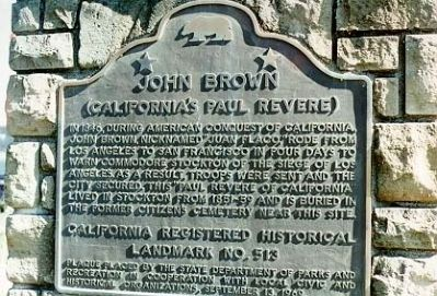 John Brown Marker Photo, Click for full size