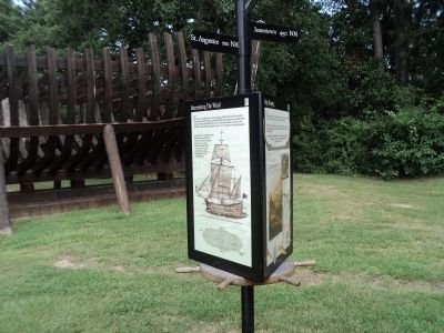 Marker at Charles Towne Landing image. Click for full size.