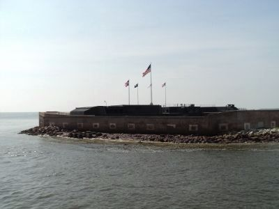 Fort Sumter image. Click for full size.