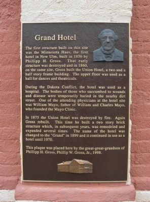 Grand Hotel Marker image. Click for full size.