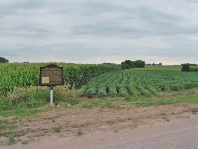 Dakota Reservation and the Leavenworth Road Marker image. Click for full size.