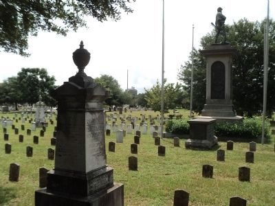 Memorial in Magnolia Cemetery image. Click for full size.