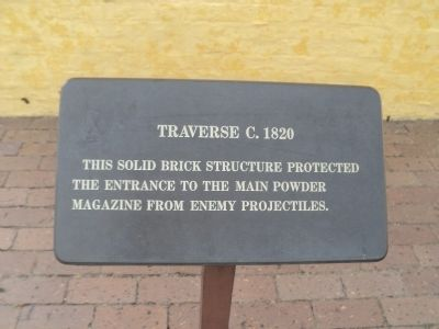 Traverse   c.1820 Marker image. Click for full size.