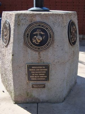 Ebbetts Pass Veterans Memorial Marker image. Click for full size.