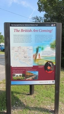The British are Coming Marker image. Click for full size.