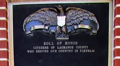 Vietnam - Honor Roll image. Click for full size.