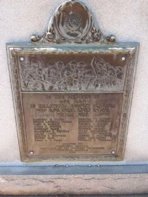 Tallapoosa County World War I Memorial image. Click for full size.