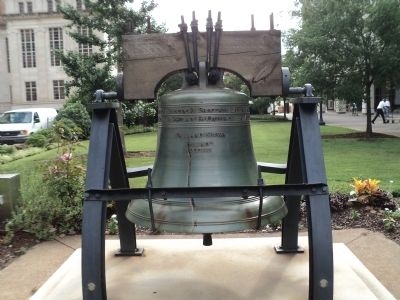 Liberty Bell Reproduction image. Click for full size.