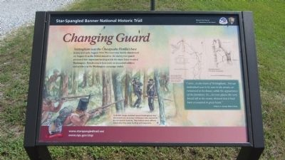 Changing Guard Marker Photo, Click for full size