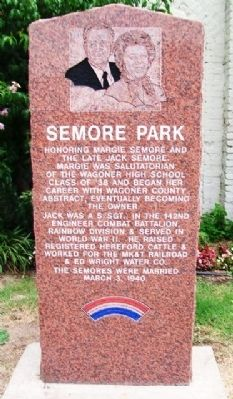 Semore Park Marker image. Click for full size.