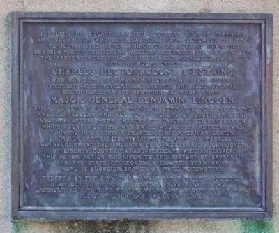 Madison Square, British Southern Line of Defenses Marker image. Click for full size.