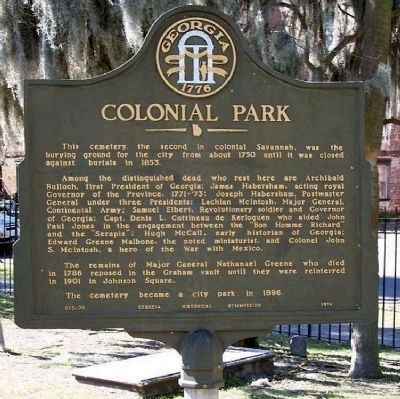Colonial Park Marker image. Click for full size.