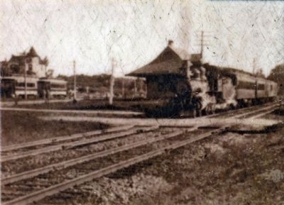 B & O RR and Trolley image. Click for full size.