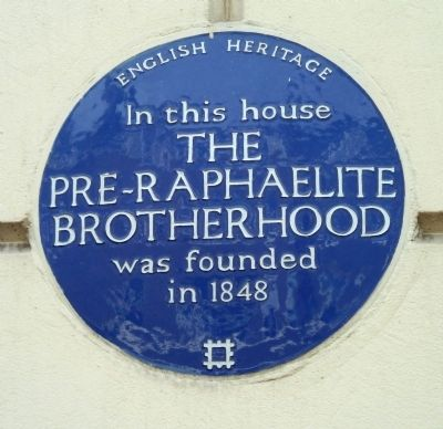 Pre-Raphaelite Brotherhood Marker image. Click for full size.