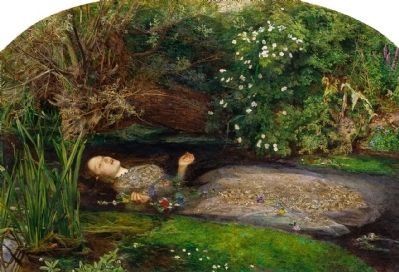 One of the Best Known Pre-Raphaelite Works image. Click for full size.