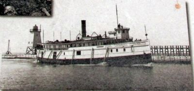 The Steam Freighter <i>Puritan</i> image. Click for full size.