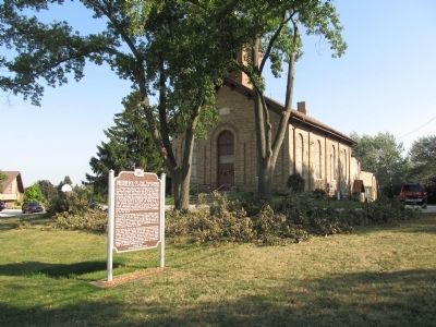 Birthplace of the Wisconsin Evangelical Lutheran Synod Marker image. Click for full size.