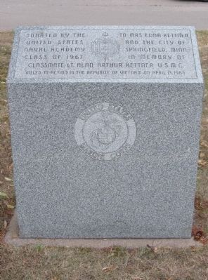 Lt. Alan Arthur Kettner Memorial image. Click for full size.