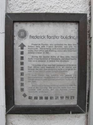 Nearby Frederick Forster Building Marker image. Click for full size.