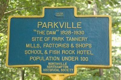The Parkville Marker image. Click for full size.